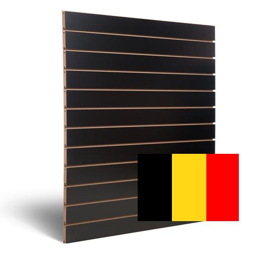 Slatwall zwart Belgie