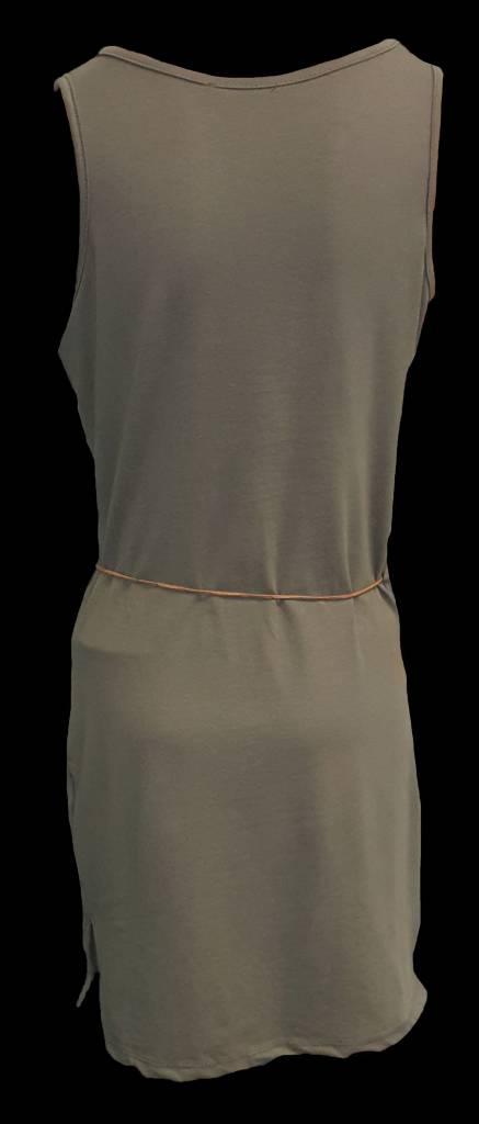 jurk kort -groen