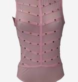 bodystocking met stuts - roze