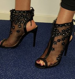 Super Mode High Heels Partyschoen - zwart