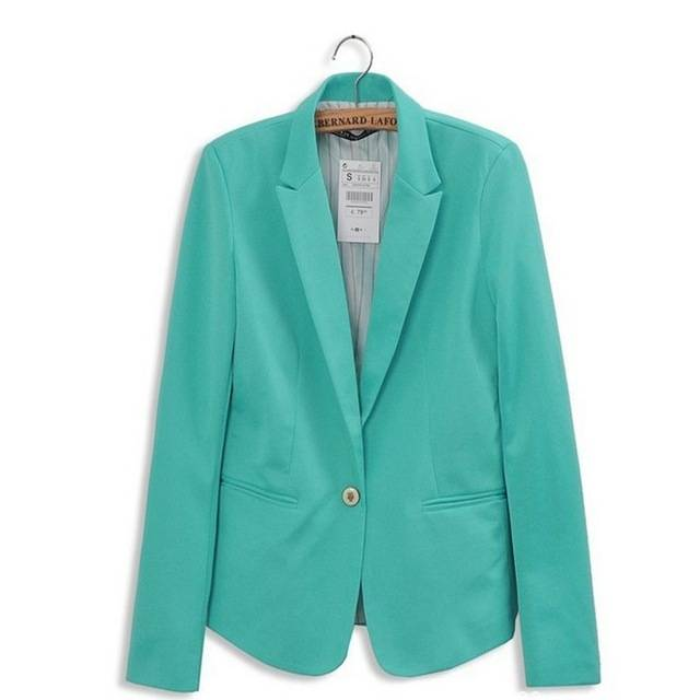 Blazer turquoise