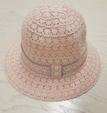 Roze kanten hoedje