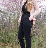 Krijtstreep jasje - roze