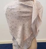 Sterren sjaal - beige