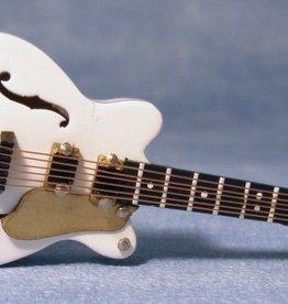 Witte Gibson ES gitaar