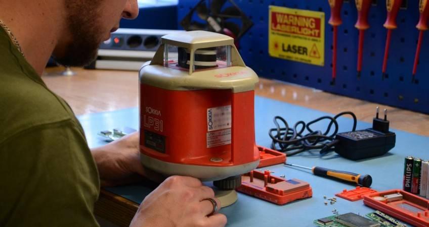 Kalibratie en onderhoud lasers