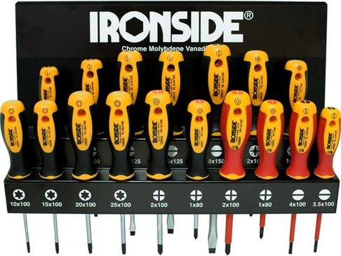 Ironside Schroevendraaiersset 17-delig