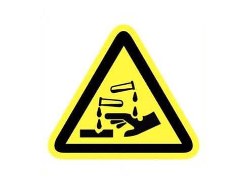 Bord Bijtende (corrosieve) stoffen