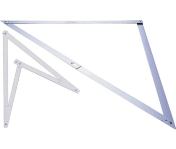 Stanley Winkelhaak Folding Square - 122x122x172 cm