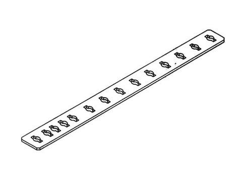 Afstandsregel 6-50 cm, werkelijke lengte = 62,5 cm