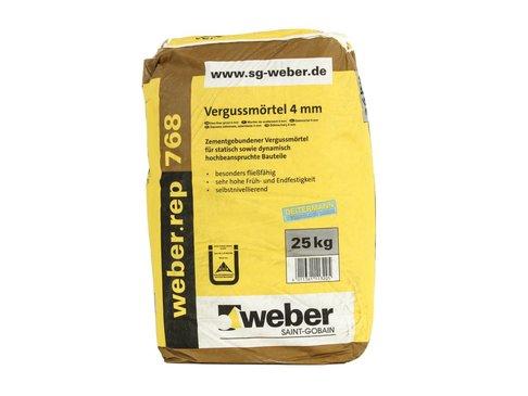 GIETMORTEL 4mm WEBER.TEC 768
