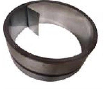 Kimband staal gegalvaniseerd 125 mm per rol 30 mtr