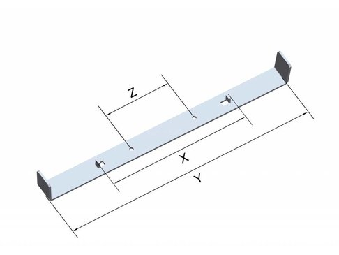 Funderingsstrips - Wanddikte 250 mm