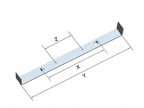 Funderingsstrips - Wanddikte 550 mm