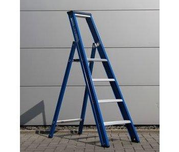 DAS Hercules 'Blue' enkele trap - gecoat 1,00m