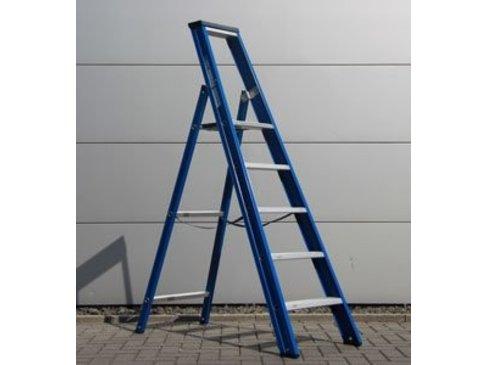 DAS Hercules 'Blue' enkele trap - gecoat 1,25m