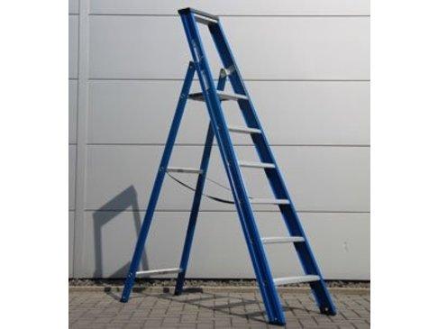 DAS Hercules 'Blue' enkele trap - gecoat 1,50m