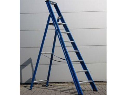 DAS Hercules 'Blue' enkele trap - gecoat 1,75m