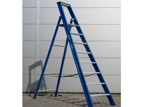 DAS Hercules 'Blue' enkele trap - gecoat 2,00m