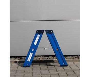 DAS Hercules 'Blue' dubbele trap - gecoat 0,50m