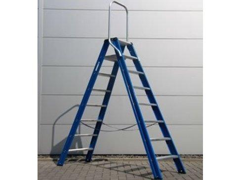 DAS Hercules 'Blue' dubbele trap - gecoat 2,00m