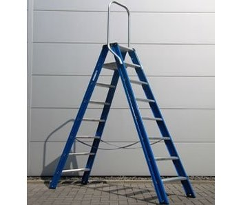 DAS Hercules 'Blue' dubbele trap - gecoat 2,50m