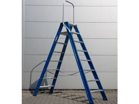 DAS Hercules 'Blue' dubbele trap - gecoat 3,00m