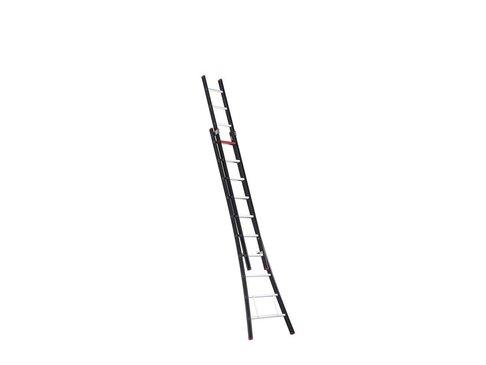Nevada - aluminium kokerladder (gecoat) - 2-delig opsteek 5,15m