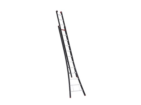 Nevada - aluminium kokerladder (gecoat) - 2-delig opsteek 6,25m