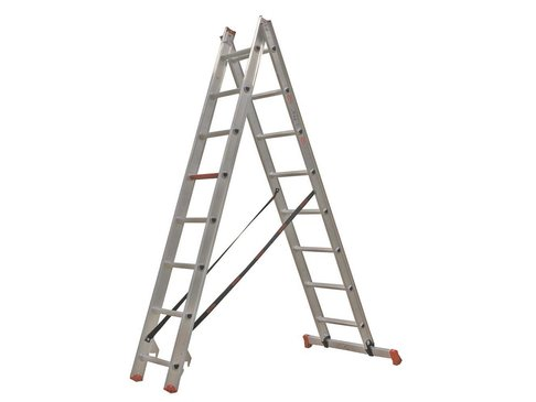 All Round - aluminium ladder - 2-delig reform 3,65m