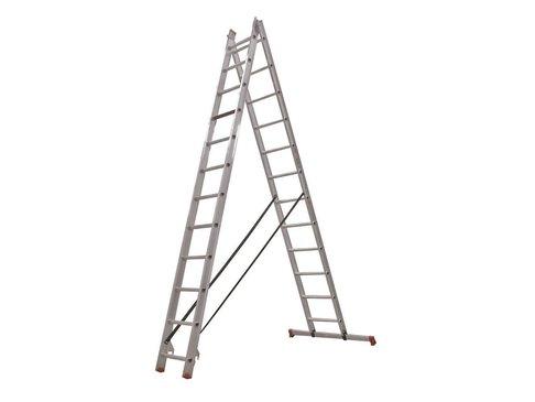 All Round - aluminium ladder - 2-delig reform 5,65m