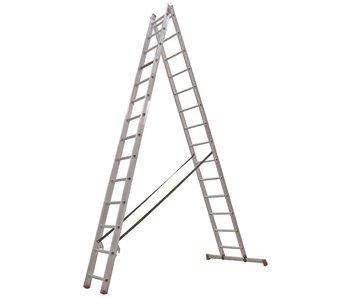 All Round - aluminium ladder - 2-delig reform 6,15m