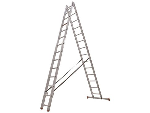 All Round - aluminium ladder - 2-delig reform 6,15m