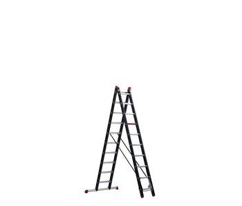 Mounter - aluminium ladder (gecoat) - 2-delig reform 5,0m