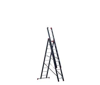 Atlantis - aluminium ladder - 3-delig reform 6,2m