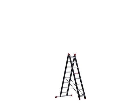 Mounter - aluminium ladder (gecoat) - 2-delig reform 3,9m