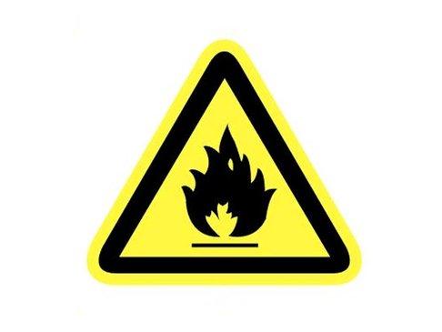 Bord Brandgevaarlijke stoffen