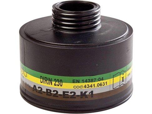 Schroeffilter voor halfgelaatmasker DIRIN 230 - A2B2E2K1