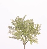 Artemisia (Alsem) bush, 48 hojas, flocked, 30cm