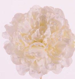 "Peonyhead (Pfingstrose) ""Floating Flora"", Ø 15cm, x15petals, foam base"