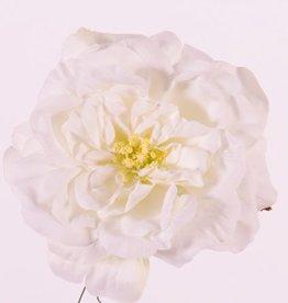 "Rosehead (Roos) open, ""Floating Flora"", x11petals, Ø 15cm, foam base"