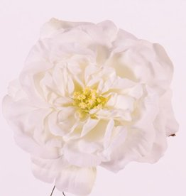 "Rosehead (Rose) offen, ""Floating Flora"", x11petals, Ø 15cm, foam base"