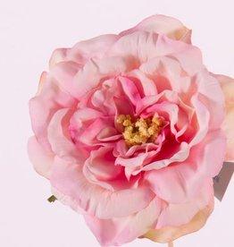"Rosehead (Rose) open, ""Floating Flora"", x11petals, Ø 15cm, foam base"