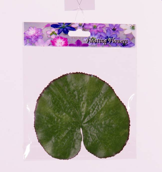 "Lotus leaf (Waterlily leaf) ""Floating Flora"", Ø 13cm (10pcs in bag) (price per bag)"