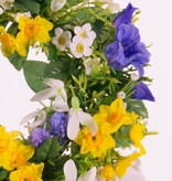 Kransmix Campanula/Bluegrape/Daffodil/Lelietjederdalen Ø 15CM/30CM