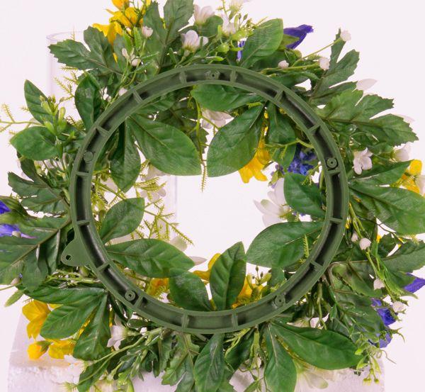 """Wreath """"Spring Break"""" Campanula/Bluegrape/Daffodil/lillyofthevalley Ø 15CM/30CM"""