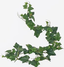 hoja de uva - guirnalda, 74 hojas, 150cm