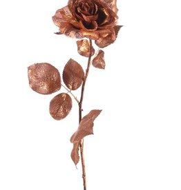 Rama rosa x1, mica, 52cm, Ø9cm