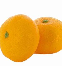 Tangerine (Citrus reticulata) ø52mm, H35mm, w/weight