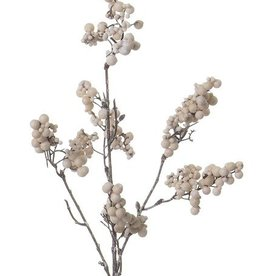 "Berrybranch ""Vintage Dream"", with foam berries, 6 clusters of berries, 50cm"